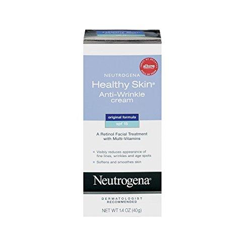Neutrogena Healthy Skin Anti-Wrinkle Cream, SPF 15, 1.4 Ounce (Pack of 2) by Neutrogena