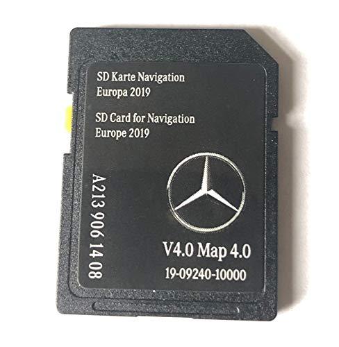 SD Card Mercedes Garmin MAP Pilot Audio 20 NTG5.5 Breitbild v4 Europa 2019 - A2139061408 - E Klasse C Klasse (Neue Form)