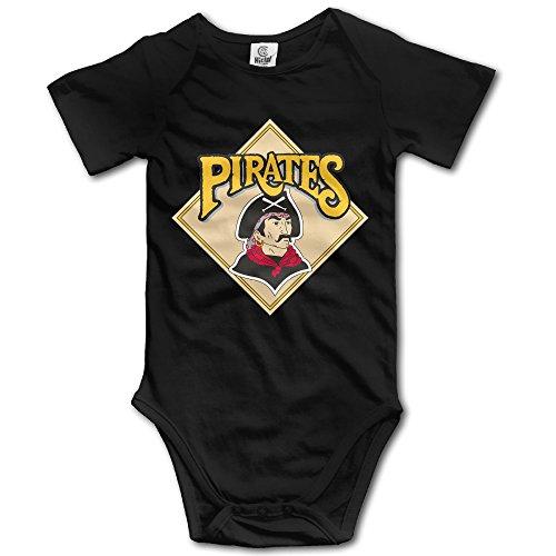 American Pirates POY-SAIN Newborn Baby Pagliaccetto Climb Abbigliamento Nero - Nero - 12 Mesi