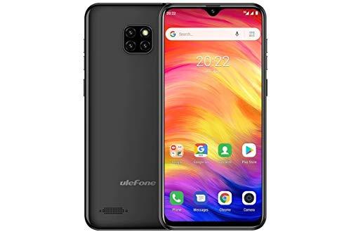 ULEFONE Smartphone Note 7 Black 3G/6.1' HD/OC 1.3GHZ/16GB ROM/1GB RAM/5MP/3500MHA