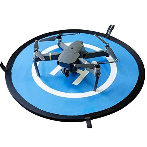 """Pista de aterrizaje de drones, 30\""""/75cm Impermeable Helicoptero Plegable Portátil Helicoptero Landig Mat para DJI Mavic Pro Phantom 2/3/4/Pro, Helicóptero RC, Mavic Pro, Chispa, Inspire drone y más"""