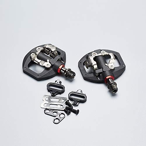 BGGPX / Ajuste for Race/Fit for Obras/Pedal Fit for PD-A530 SD Dual Plataforma de Bicicletas Dual Plataforma Bicicleta Pedales (Color : Light Grey)