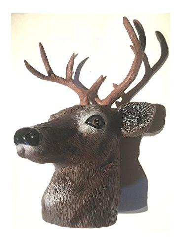 Hirsch Kopf als Abdeckung für Anhängerkupplung (american Deer) oder Flaschendeko