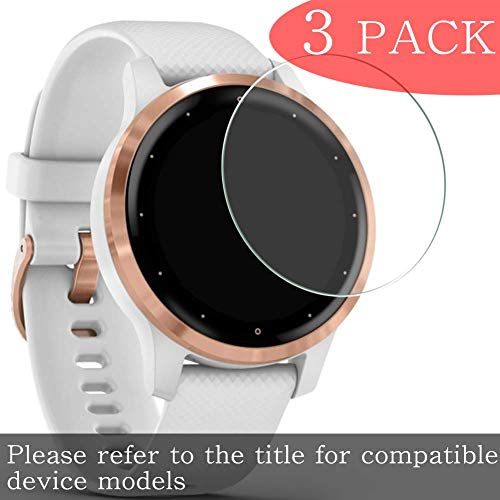 [3 Pack] Puccy Tempered Glass Screen Protector Compatible with CASIO Sports MDV106G-1AV Film Protectors Anti Scratch Bubble Free for Smartwatch