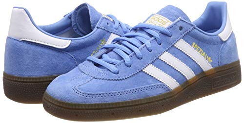 adidas Herren Handball Spezial Gymnastikschuhe Blau (Light Blue/FTWR White/Gum5), 44 EU - 5
