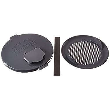Traeger Pellet Grills BAC370 Pellet Storage Lid & Filter Kit, Gray