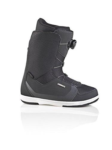 Deelux Alpha Boa Bottes de Snowboard, Mixte, 571647-1000/9110, Noir, 27