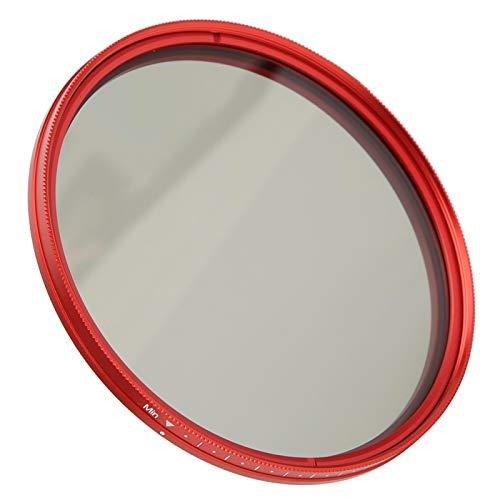 Deror Filtre ND FOTGA, Filtre ND réglable de 82 mm Filtre à densité Neutre ND2‑400 pour Objectif d'appareil Photo Reflex