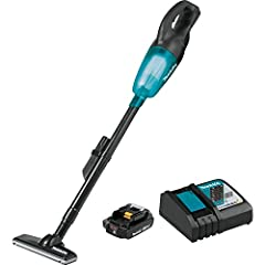 Up to 15 minutes of continuous use from a single, fully charged 18V compact Lithium Ion 2.0Ah battery Redesigned floor nozzle for improved maneuverability and debris collection Strong suction power for fast and efficient cleaning. Powerful motor deli...