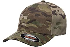 63% polyester, 34% cotton, 3% spandex combed twill 6-panel, structured, mid-profile wool-like texture 3?inch crown hard buckram backed front panels