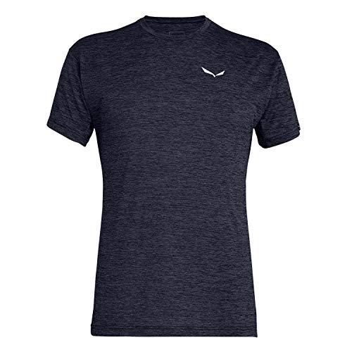 Salewa Herren Hemden und T-Shirts Puez Melange Dry M S/Tee, Premium Navy...