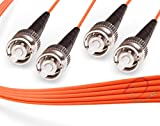 OM2 ST ST Duplex Fiber Patch Cable 50/125...