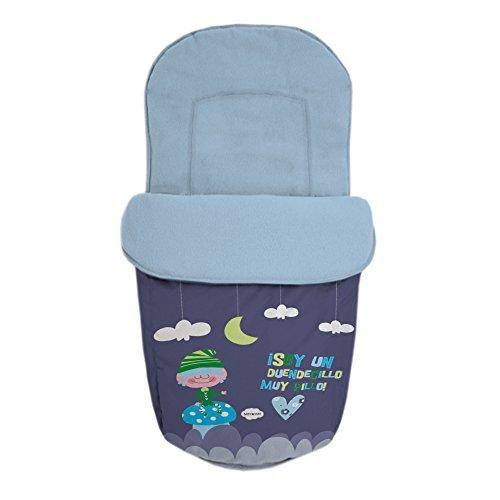 Baby Star 25464 – Sac pour siège universelle, couleur BLEU