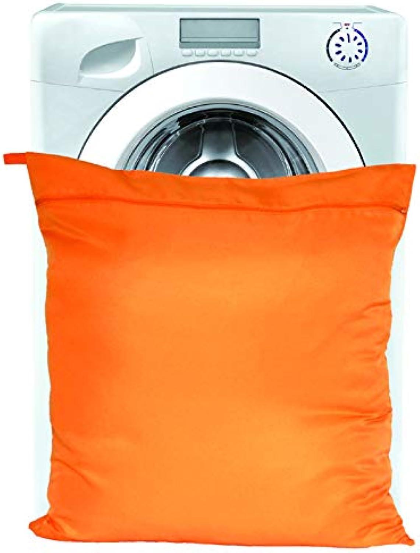 (Large, orange) - Horsewear Wash Bag. Horse Laundry Washing Bag. Rugs, Numnahs, Boots. Large Size