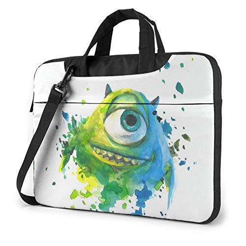 15.6″Durable Hombro Mensajero Bolsa maletín PC Universidad Mon-NS-TER-s Moda Impermeable Ordenador Portátil/portátil/Tablets