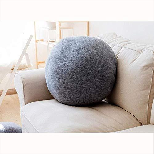 Pillow Almohadas Decorativas Cojín de Gamuza Transpirable cálido Durante Todo Color sólido extraíble y Lavable Accesorios de casa (Size : 65x65cm)