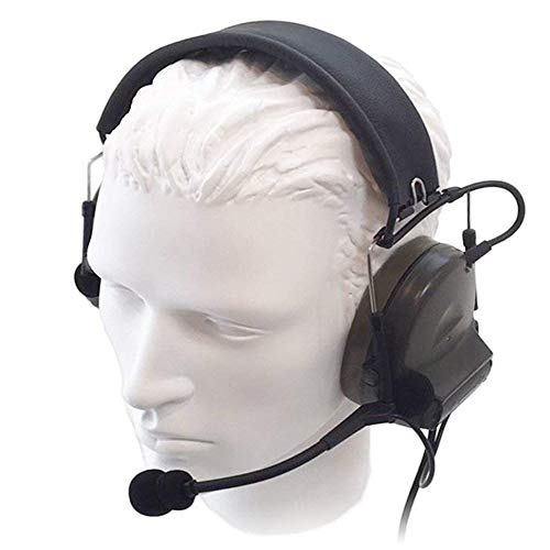【Z-TAC Official Store】 Z-Tactical Comtac II Headset Style COMTAC II Headset Ver2.0 Style Noise Canceling Sound Collection Soundproof Tactical Headset with Mic G:1 Specifications Non-Mil-Spec Z041