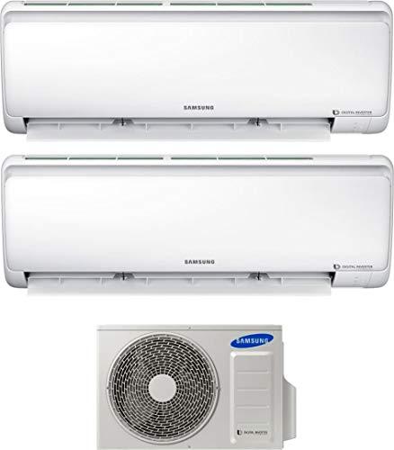 Climatizzatore Dual Split 9000 + 12000 Btu Inverter Pompa di Calore Quantum Maldives AR09+12NXFPEWQN + AJ040NCJ2EG/EU