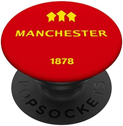 Manchester Pop Socket United Fans of Sport Soccer Football PopSockets PopGrip Swappable Grip product image