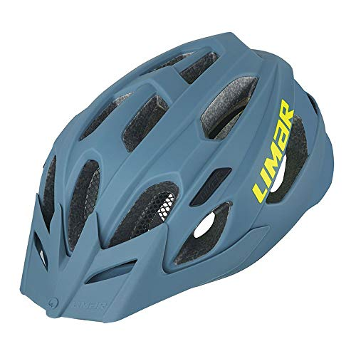 Limar Berg-Em Fahrradhelm, Unisex Erwachsene, Steel Blue, L (57-62 cm)