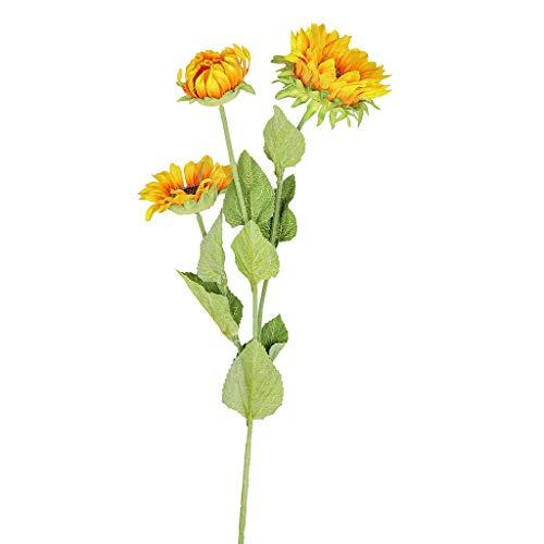SuperSU Wohnaccessoires & Deko Sonnenblume Kunstblumen Blumenstrauß Kunstblumen Künstliche Seide,Braut Hochzeit Bouquet Garten Dekor Blumenstrauß Gefälschte Blumen