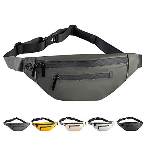 Shinemefly Waist Bag Bumbag Fashion PU Waist Bag Waterproof Bum Bags...