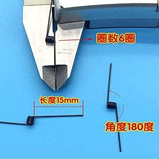 Calvas Wire Dia 0.4mm OD 2mm Springs Miniature Torsion Spring 20PCS