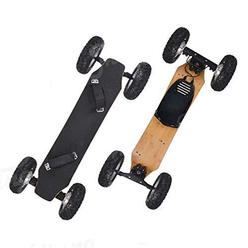 Off Road Elektro-Skateboard Mountainboard 43 Zoll, 25 MPH Höchstgeschwindigkeit, 1600W Motor, 18,6 Meilen Reichweite, 10 Ebenen All Terrain Longboard mit Wireless Remote Control