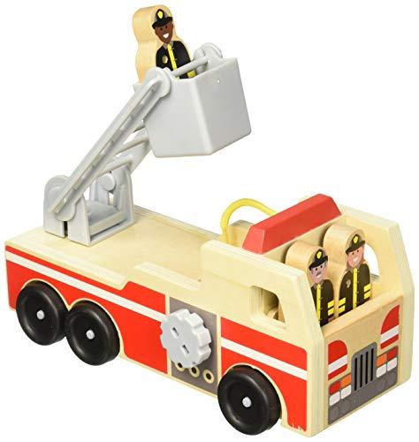 Feuerwehrfahrzeug Holz Spielfiguren