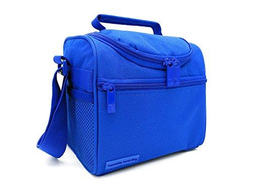 415KEf5rm8L - Leyendas Bolsa Térmica Porta Alimentos Comida Almuerzo Oferta Color Liso o con Dibujo 6 litros (Azul)