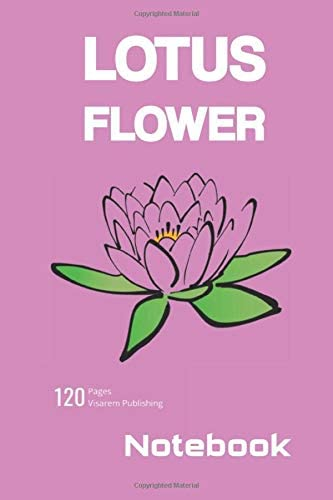 Notebook College Ruled Flower Lotus Pink ver 8 product image