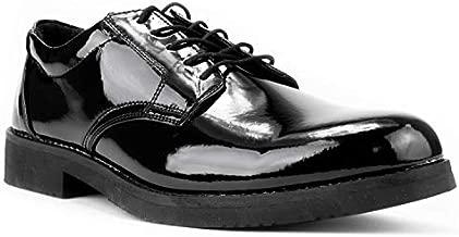 First Class Hi-Gloss Oxford Dress Shoes (9.5) Black