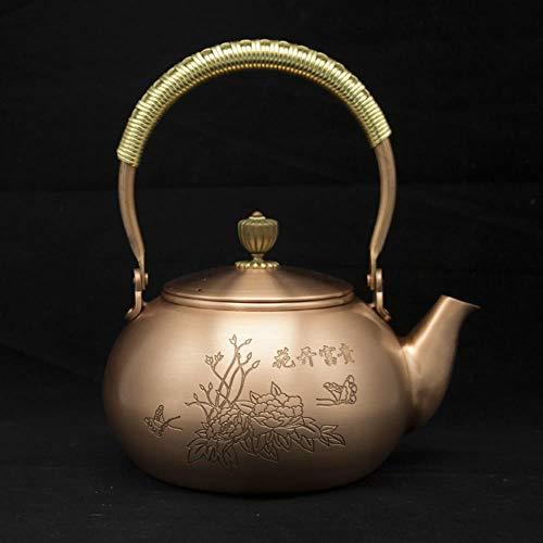 Viner rood koperen theepot glas Samovar keramiek geëmailleerd uit klei geëmailleerde ketel metaal groene thee Hift Japans