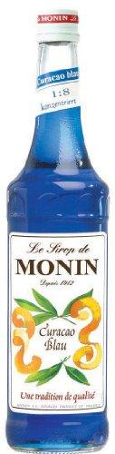 Monin Blue Curacao Sirup, 3er Pack (3 x 700 ml)
