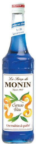 Monin Blue Curacao Sirup, 3er Pack (3 x 700 ml)