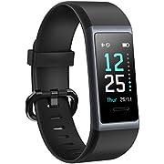 AIKELA 【2020 Neuestes Modell Fitness Armband, Smartwatch IP68 Wasserdicht Fitness Tracker mit Pulsmesser Farbbildschirm Aktivitätstracker Schrittzähler Fitness Uhr für Damen Herren iOS Android