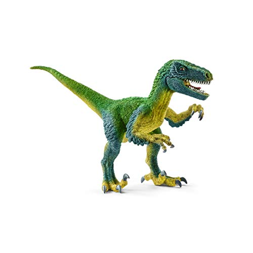 Halloween Dinosaur Velociraptor Blue with Movable Jaw Mask Fancy Dress Party