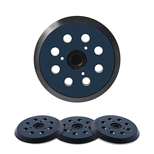 5 Inch 8 Hole Hook and Loop Sander Pad For makita,dewalt,hitachi,porter cable Orbital Sander - Fits 743081-8 743051-7 151281-08 & DW4388 DW421/K BO5010,BO5030K,382 343,324-209 Replacement Sander Pad