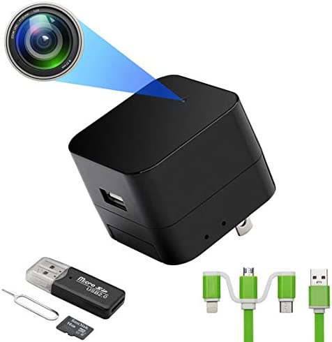 Upgraded USB Charger with1080P WiFi Spy Camera Hidden Camera Mini Camera Nanny Camera with Motion product image