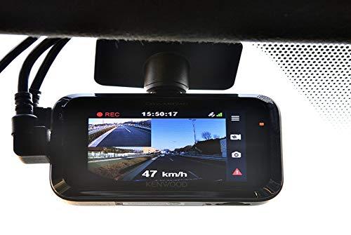 KENWOOD(ケンウッド)前後撮影対応2カメラドライブレコーダーDRV-MR740フルハイビジョンGPS駐車監視録画対応高画質前後200万画素シガープラグコード(3.5m)付属microSDHCカード付属(16GB)2カメドラレコDRV-MR740
