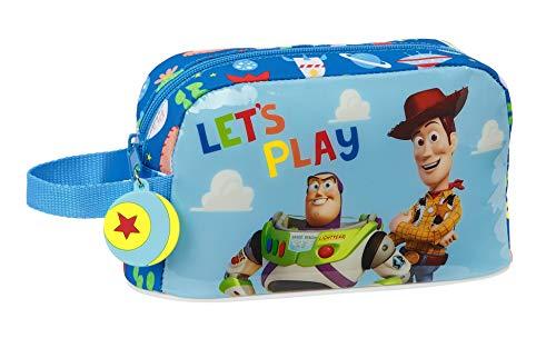 safta Porta Desayunos Termo Térmica de Toy Story Let's Play, 215x65x120mm, azul, M (M859)