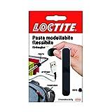 Loctite Kintsuglue Pasta Modellabile, Adesiva Flessibile Nera per Riparare, Ricostruire e Proteggere Oggetti, Colla Modellabile Impermeabile e Plasmabile, 3x5 g