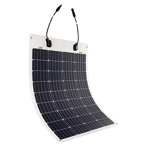 Extremely Flexible ETFE Monocrystalline Solar Panel by Rich Solar