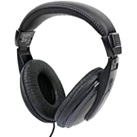 DURAGADGET Auriculares De Diadema para Portátil ASUS Aspire 5 A515-51G, ASUS K541UA-GO1279T / Lenovo V110-15, Lenovo Yoga 720-15 / MSI GL62M 7RDX-2203XES - Negro Y Blanco