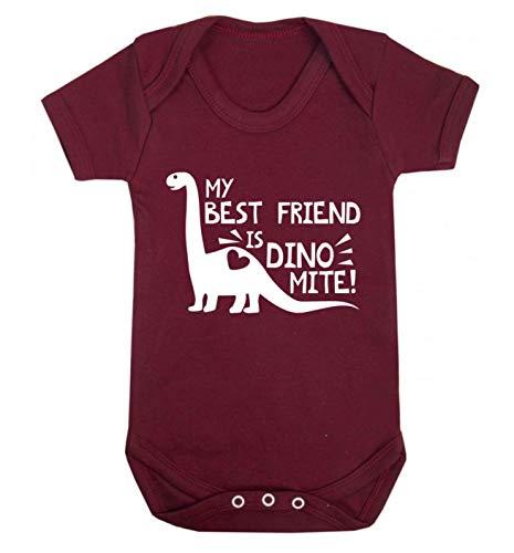 Flox Creative Baby Vest My Best Friend is Dinomite - Rouge - XS