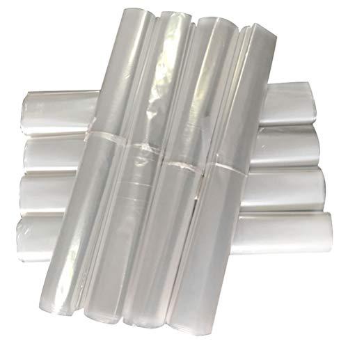 TOPBATHY 50 Pezzi di Vestiti monouso Sacchetto per la Polvere Trasparente parapolvere Abbigliamento (60x100 cm)
