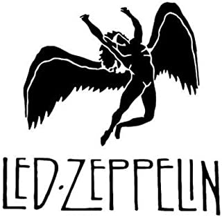 Led Zeppelin Rock Band - Sticker Graphic - Auto, Wall, Laptop, Cell, Truck Sticker for Windows, Cars, Trucks
