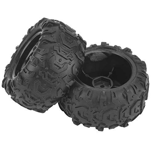 VGEBY1 2 RC-banden, 1/18 RC terreinwagen wielstropdassen racebanden met naaf voor 9300 9302 1/18 Modelauto