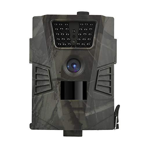 DIGITNOW! Wildkamera Fotofalle 12MP 1080P FHD Jagdkamera Beutekameras, 120° Weitwinkel Vision Und Infrarot 65ft/20m Nachtsicht, wasserdichte IP65 Überwachungskamera 30 IR LED
