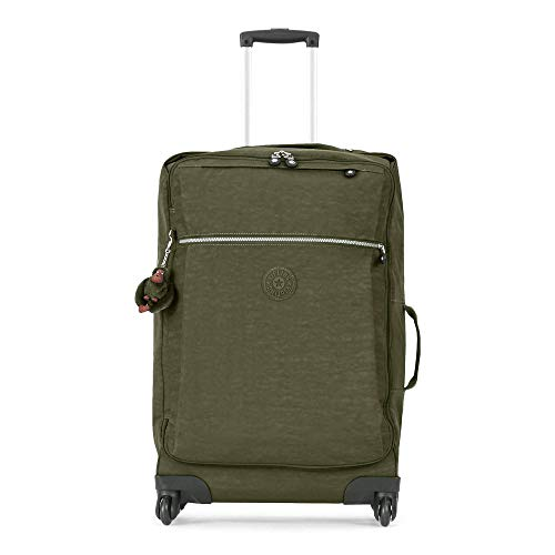 Kipling Unisex-Adult's Darcey Medium Wheeled Luggage, Jaded Green
